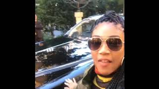 Tiffany Haddish Gets Pampered With A Rolls Royce After Amazing Book Sales!!