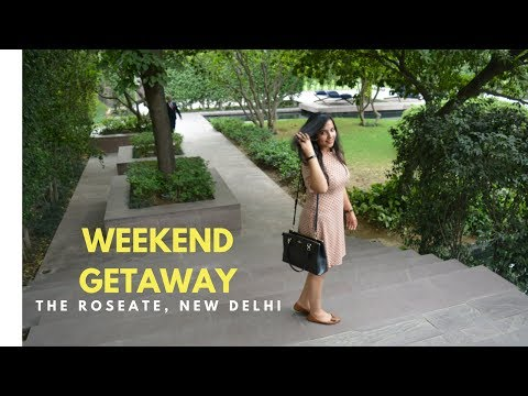 #RidhiVlogs - Weekend Getaway at The Roseate, New Delhi | Staycation | HerHappyFace