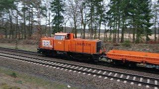 Kursbuchstrecke 110 Hamburg-Hannover: Güterzüge Bei Deutsch Evern/Lüneburg