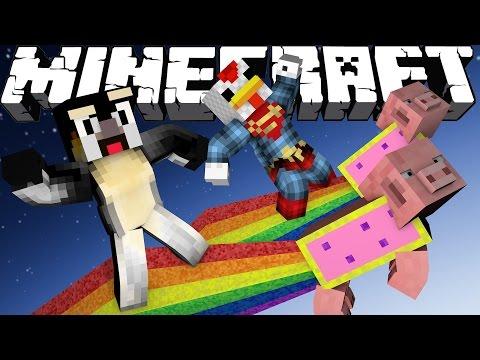 Minecraft crazy craft 3 0 ep 32 nyan pig attack for Http test voidswrath com modpacks crazy craft 3 0