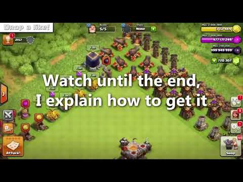 Clash Of Clans Hack! 99,999,999 GEMS! WORKING 2017!