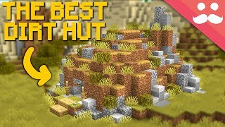 i-made-the-best-dirt-hut-in-minecraft-1-14