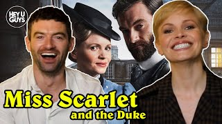 Kate phillips (peaky blinders / the crown wolf hall) and stuart martin (medici jamestown) are interviewed for their show coming to alibi, miss scarlet & ...
