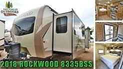 New Updated Interior 2018 ROCKWOOD 8335BSS Rear Bedroom RV Camper Colorado Dealer