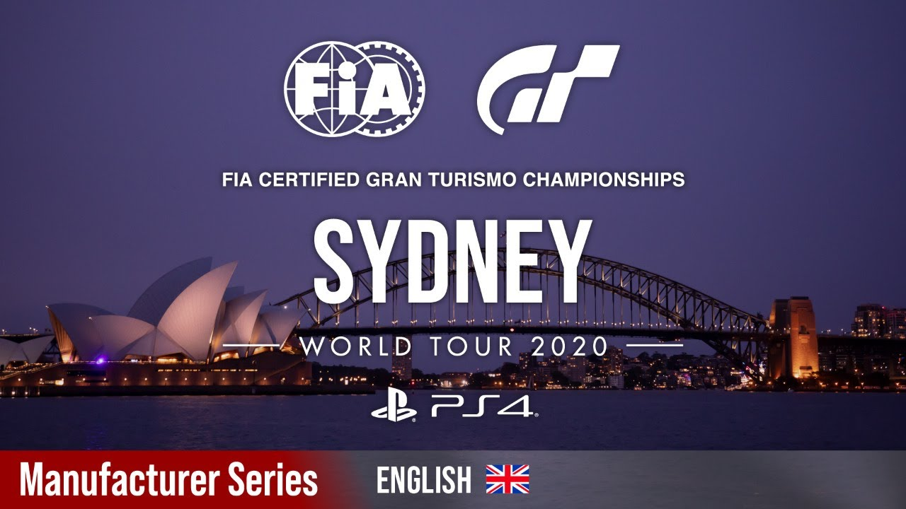 VIDEO: GT Sport World Tour - Sydney