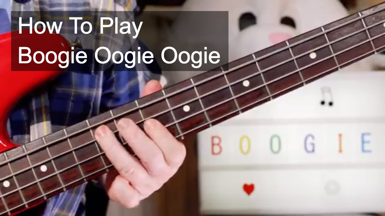 Boogie Oogie Oogie A Taste Of Honey Guitar Bass Lesson Youtube