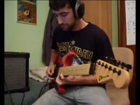 Iron Maiden - Wasted Years (Solo Cover)