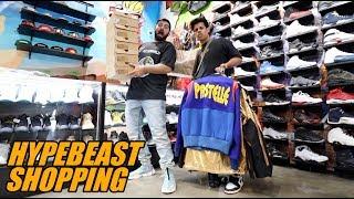 Millionaire Teen Spends $30,000 Dollars Hypebeast Shopping!!
