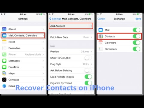 how to find deleted contacts on iphone how to recover deleted contacts on iphone 7 7 plus with 20045