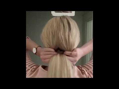 Прически на очень длинные волосы в домашних условиях своими руками по шагово