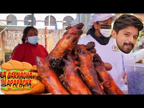 El BANQUETE más TRADICIONAL de CUSCO   La garnacha que apapacha