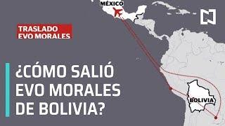 Así México otorgó asilo político a Evo Morales - En Punto