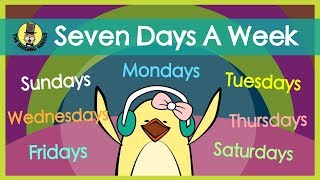 Seven Days a Week | Days of the Week Song | The Singing Walrus