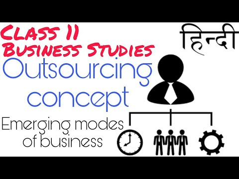 (hindi)-outsourcing-concept-class-11-|-emerging-modes-of-business.