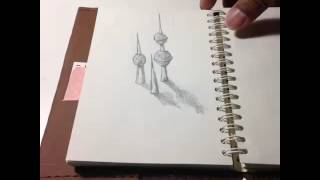 3D landmark series: Kuwait tower, Stonehenge & Big Ben #CurriculumVine for Willy Sam