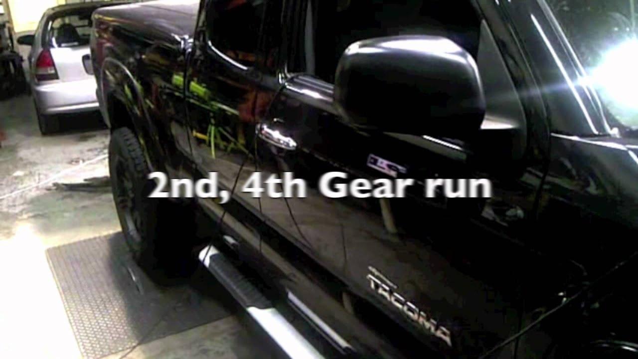 2009 Tacoma TRD supercharger dyno runs  YouTube