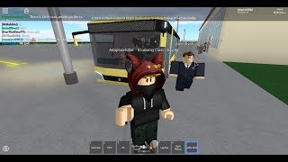 Roblox Bay Air flight Economy part 1 Tauranga to Brisbane