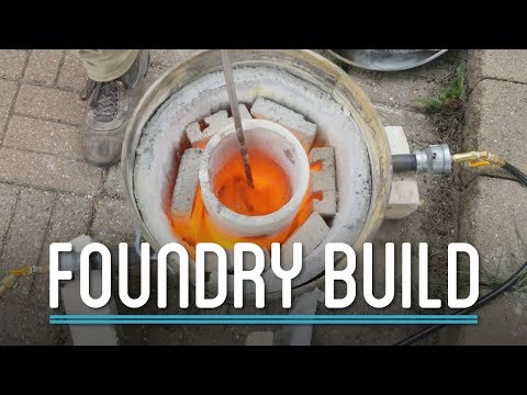 DIY Foundry Build | How to Make Everything