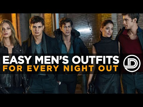 WHAT TO WEAR FOR EVERY NIGHT OUT — Men's Style