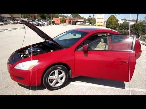 SOLD 2003 Honda Accord EX-L i-VTEC Meticulous Motors Inc Florida For Sale