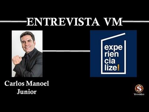 Entrevistas VM - Raul Candeloro entrevista Manoel Carlos Junior Experiencialize