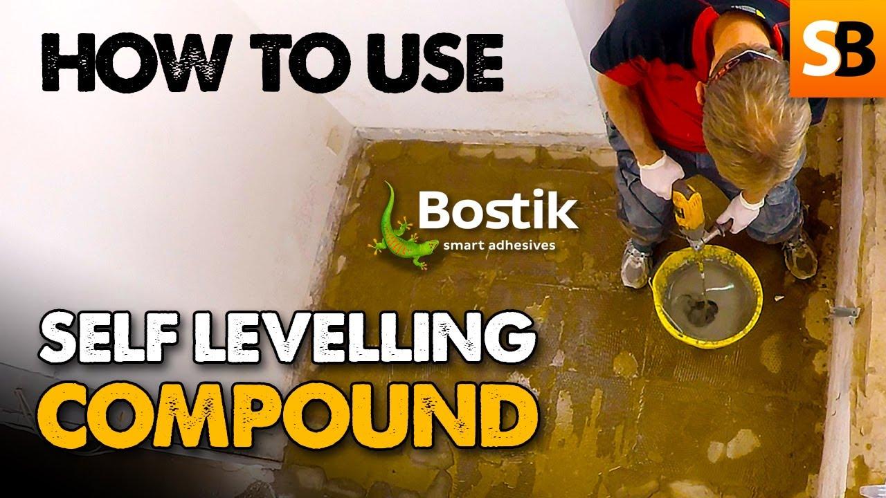 how to use bostik self levelling floor screed compound. Black Bedroom Furniture Sets. Home Design Ideas