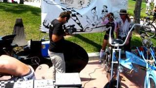 Venice Beach kustom bicycles show