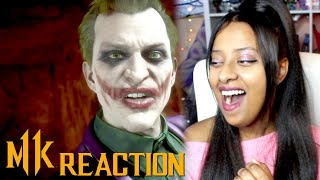 OFFICIAL JOKER GAMEPLAY TRAILER REACTION! - Mortal Kombat 11