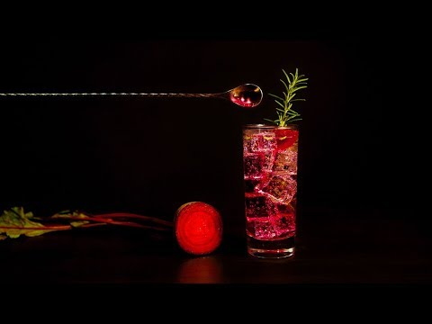 How to make Shaker & Spoon's Crimson Beet-rayal cocktail