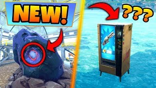 Fortnite Gameplay: THE METEOR IS CHANGING! + Under Map Vending Machine (Battle Royale Solo Showdown)