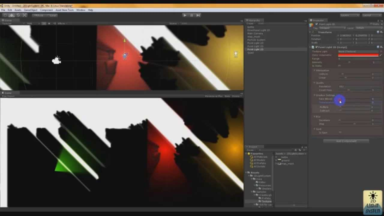 2D Light System [Unity3D]