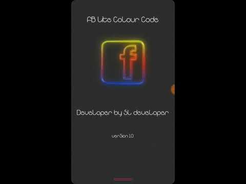 Facebook lite color code apk