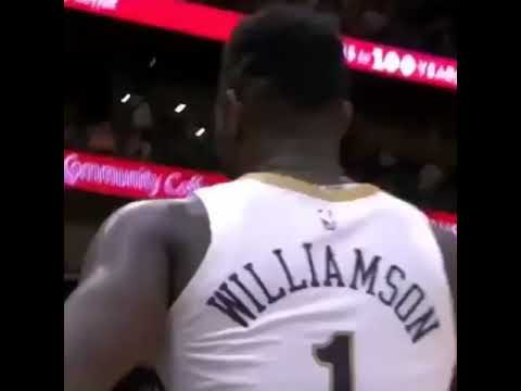[Highlight] Josh Hart just wants a high five from Zion. The tradition continues.