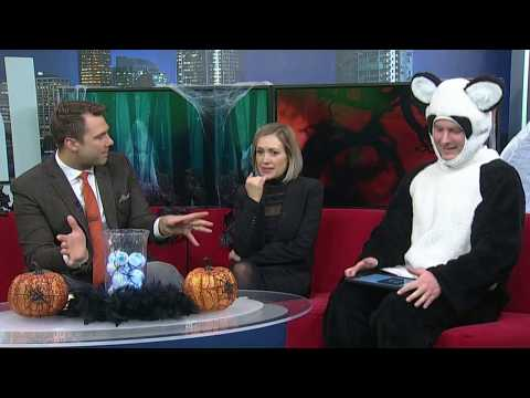 Calgary Global News Morning Team Has a Spooky Visit To Heritage Park