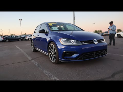 2018 VW Golf R First Impressions! New Series Announcement!
