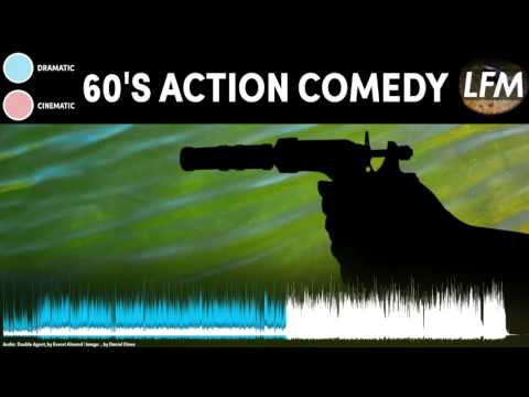 60s ACTION COMEDY SPY Background Instrumental  Royalty Free Music