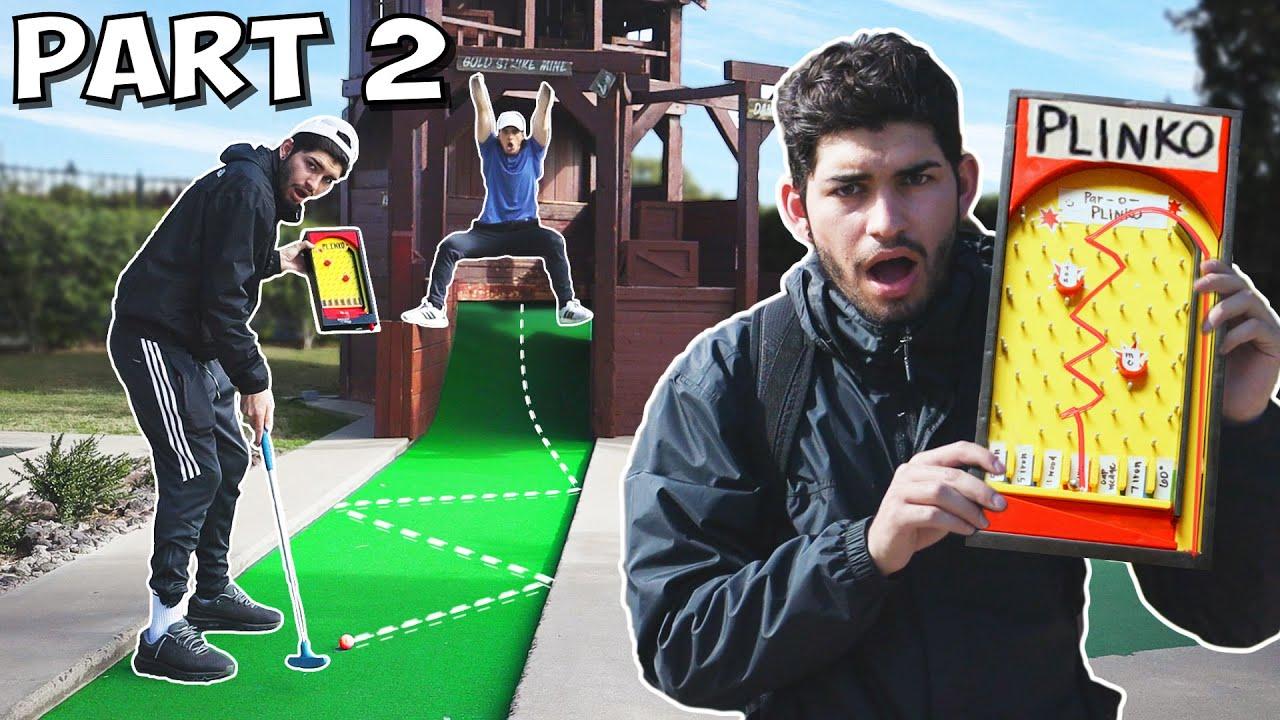Random Mini Golf Match Part 2| PLINKO Golf! 1