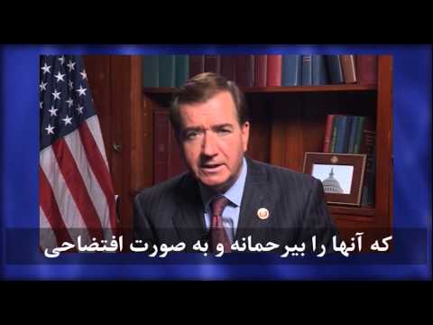 Congressman Ed Royce video message to Paris gathering of Iranians for democratic change