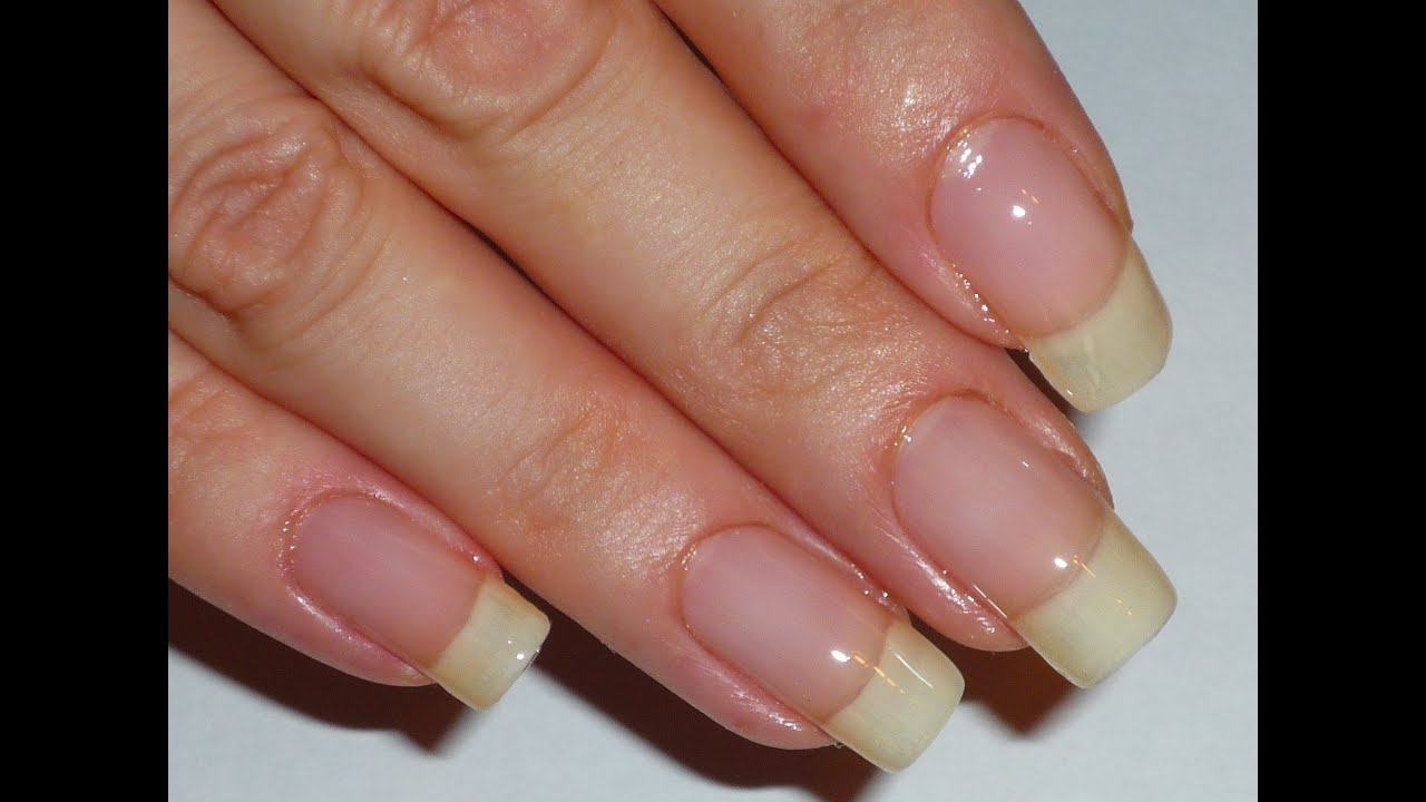 Grow long nails naturally Fast Using the Right Products - YouTube