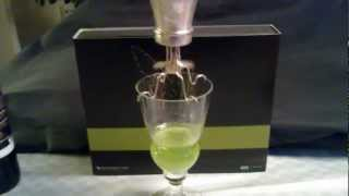 Creating The Louche By Using A Absinthe Dripper See-saw.mp4