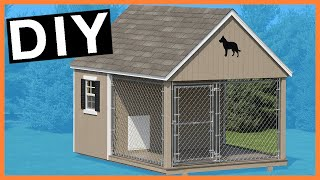 DIY How to build a perfect dog kennel?