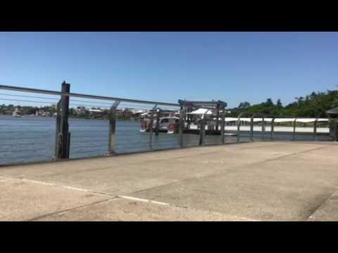 Brisbane city cat time-lapse