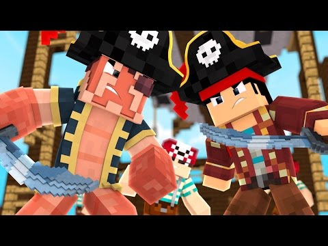 Minecraft | Unlawful Ascension - BANDITS TAKE ME PIRATE SHIP! #1
