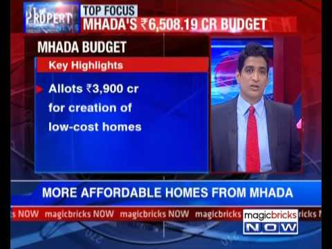 MHADA budget: Mega push for affordable housing - The Property News