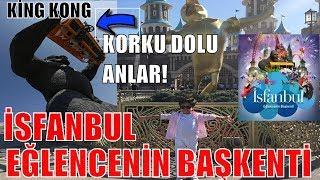 İSFANBUL TEMA PARK 'TA BİR GÜN GEÇİRMEK ! King Kong Korku dolu anlar ! ( Vialand İstanbul )