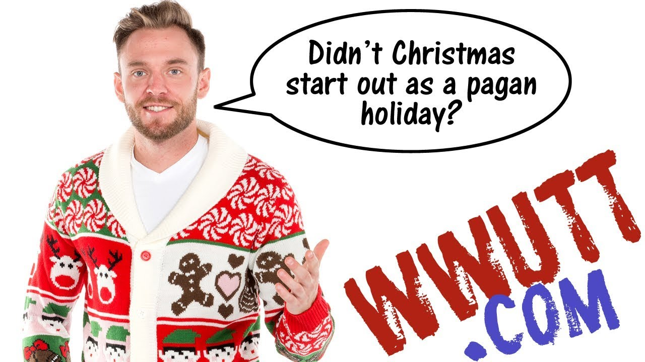 Reformed Theology [Warning: Images of Jesus] Is Christmas Pagan? (WWUTT)  Calvinism