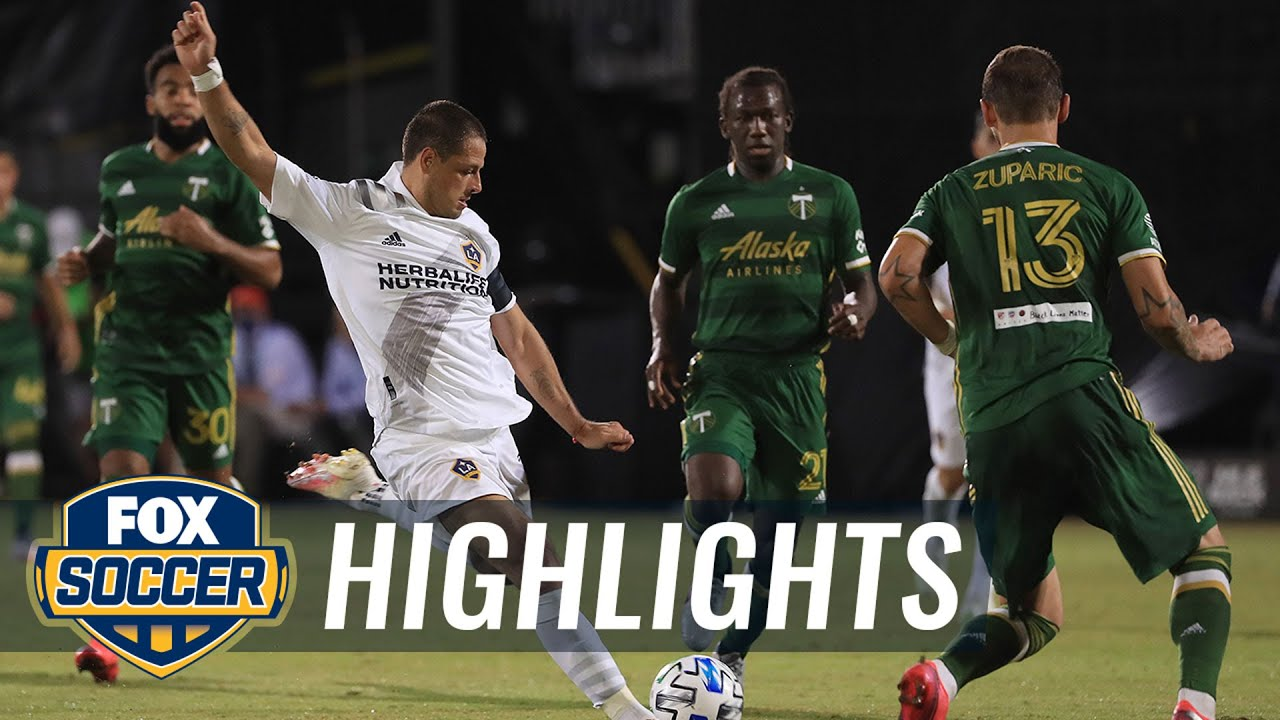 Chicharito scores first MLS goal of storied career   2020 MLS Highlights