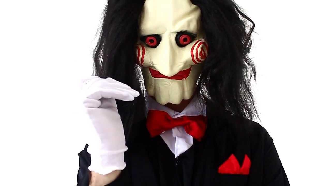 Обзор маска Пилы (кукла Билли) - YouTube