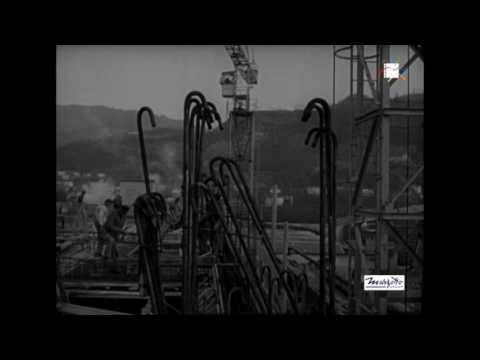 Immagini dello stabilimento Marzotto a Valdagno (girato)