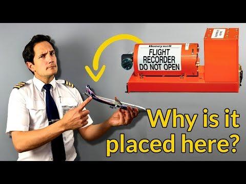 BLACK BOX/Flight Data Recorder/COCKPIT VOICE RECORDER explained by CAPTAIN JOE